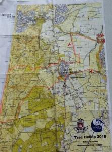 route tekening trec