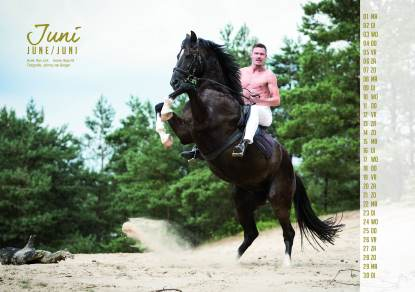Ron Link Horse and Hunk 2015