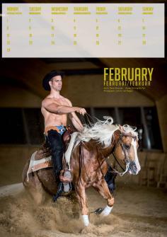 Horse and Hunk February februari 2016