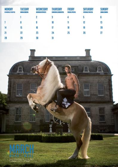 Horse and Hunk March maart 2016