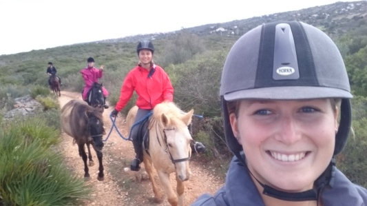 Buitenrit ride Outlook portugal