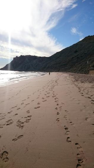 Beach strand Burgau